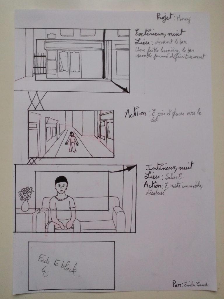 Illustration fondu enchaîné par xx